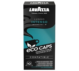 Lavazza Lungo Intenso Eco Caps x 10 coffee pods