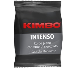Capsule FAP Intenso compatible Espresso point x100 - KIMBO