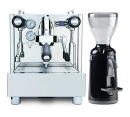 Izzo Alex PID machine expresso + Moulin Grinta Nuova Simonelli