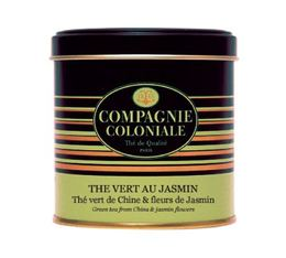 Boite Compagnie Coloniale Thé vert au Jasmin - 100 gr