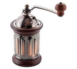 Judge stainless steel & wood Retro coffee grinder