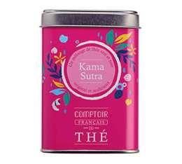 Thé vert et noir en vrac boîte métal 'Kama Sutra' - Comptoir Français du Thé - 100g