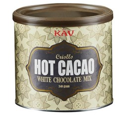 Kav America Hot Cacao white chocolate mix - GMO-free - 340g