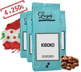 Café en grains : Kiboko - Burundi - 1Kg - Cafés Lugat