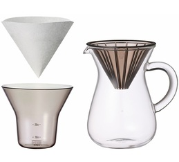 Kinto pour over plastic dripper 300ml