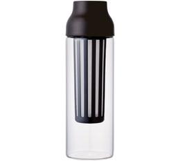 Carafe cold brew Kinto Capsule marron 1L