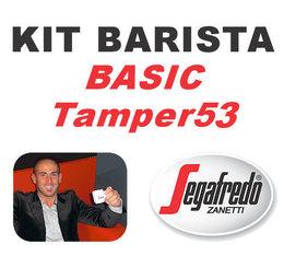 Kit Barista Basic TAMPER53 By Segafredo