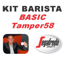 Kit Barista Basic TAMPER58 By Segafredo