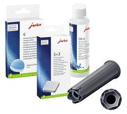 Pack Entretien Complet - (Claris Smart) pour machines Jura E6, E8, J6, Z6, Z8