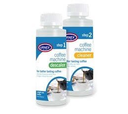 Urnex cleaner & descaler for Drip Filter Coffee Makers