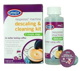 Kit nettoyant et détartrant pour machine à capsules Nespresso- Urnex