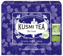 Infusion Be Cool Bio - 20 sachets mousseline - Kusmi Tea
