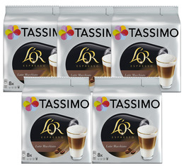 Tassimo pods L'Or Latte Macchiato - 5 x 8 drinks