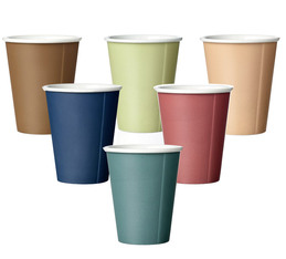 Lot de 6 Tasses LAURA en porcelaine VIVA Scandinavia - 20 cl