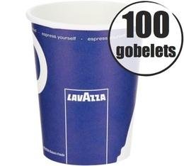 50 gobelets en carton 27cl Lavazza