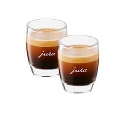 2 verres espresso 8cl - Jura