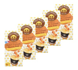 Lot de 50 Capsules Saveur Caramel Beurre Salé Columbus Café & Co pour Nespresso