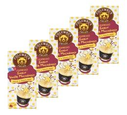 Lot de 50 Capsules Saveur Vanille Macadamia Columbus Café & Co pour Nespresso