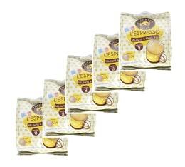 Lot de 120 Dosettes souples Espresso - Columbus Café & Co