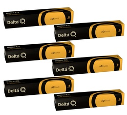Lot Capsules DeltaQ Aqtivus delta cafés 6 x 10 capsules