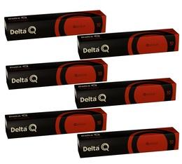 Lot Capsules DeltaQ Qalidus Delta cafés 6 x 10 capsules