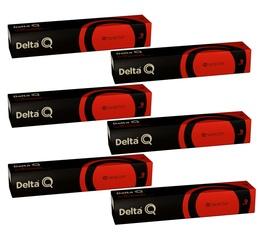 Lot de Capsules DeltaQ Qharacter delta cafés 6 x10