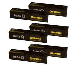 Lot de Capsules DeltaQ Double Delta Cafés 6 x 10 capsules