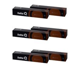 Lot de Capsules DeltaQ Qharisma delta cafés 6 x 10 capsules