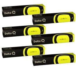 Lot de Capsules DeltaQ Deliqatus delta cafés 6 x 10 capsules