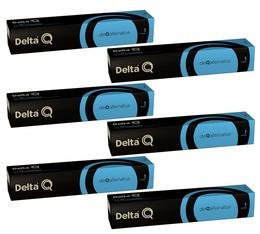 Lot de Capsules DeltaQ Deqafeinatus delta cafés 6 x 10 capsules