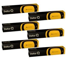 Lot de Capsules DeltaQ Qonvictus delta cafés 6 x 10 capsules
