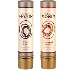 Lot de 2 L'Artiste de Monin sauce Cacao et Caramel