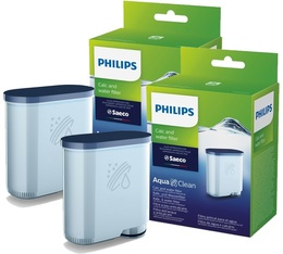 Saeco/Philips Aquaclean water filter x2