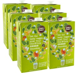 Smoothie classique 'Green' 6 x 1L - One and Only