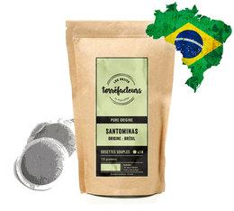Dosettes souples - Santominas Brésil - x18 - Les Petits Torréfacteurs