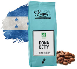 Café en grains bio : Honduras Dona Betty - 250g - Cafés Lugat
