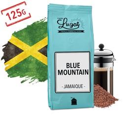 Café moulu pour cafetière à piston : Blue Mountain - Jamaïque - 125g - Cafés Lugat