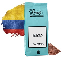 Café moulu : Colombie - Macao - 250g - Cafés Lugat