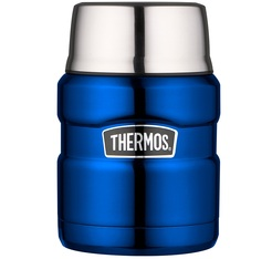 Lunch box Stainless King Bleu électrique 47cl - Thermos