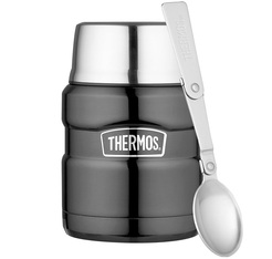 Lunch box Stainless King Gris 47cl - Thermos