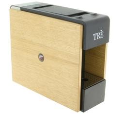 Machine à capsules TRE FAP bois - Caffé Vergnano