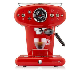FrancisFrancis Iperespresso ILLY X1 Anniversary rouge + offre cadeaux