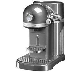 Machine à café Nespresso Couleur : Gris Etain Gamme Artisan - KitchenAid + Offre cadeau