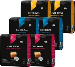 Café Royal Bumper Pack - 6 x 36 coffee pods for Senseo