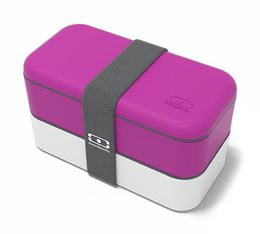 Lunch box Monbento Original Fushia/blanc