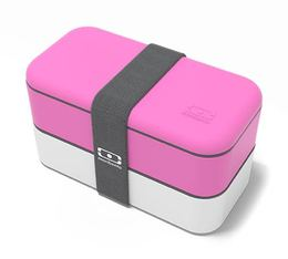 Lunch box Monbento Original Rose/blanc