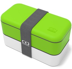 Lunch box MB Original Vert/Blanc 1L Made in France - Monbento