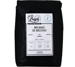 Café en grains : Mélange de Bacchus - 2Kg - Cafés Lugat