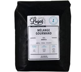 Café en grains : Mélange Gourmand - 2Kg - Cafés Lugat