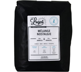 Café en grains : Mélange Nostalgie - 2Kg - Cafés Lugat